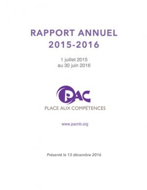 PAC AGA RAPPORT 2015 2016 2016 12 13