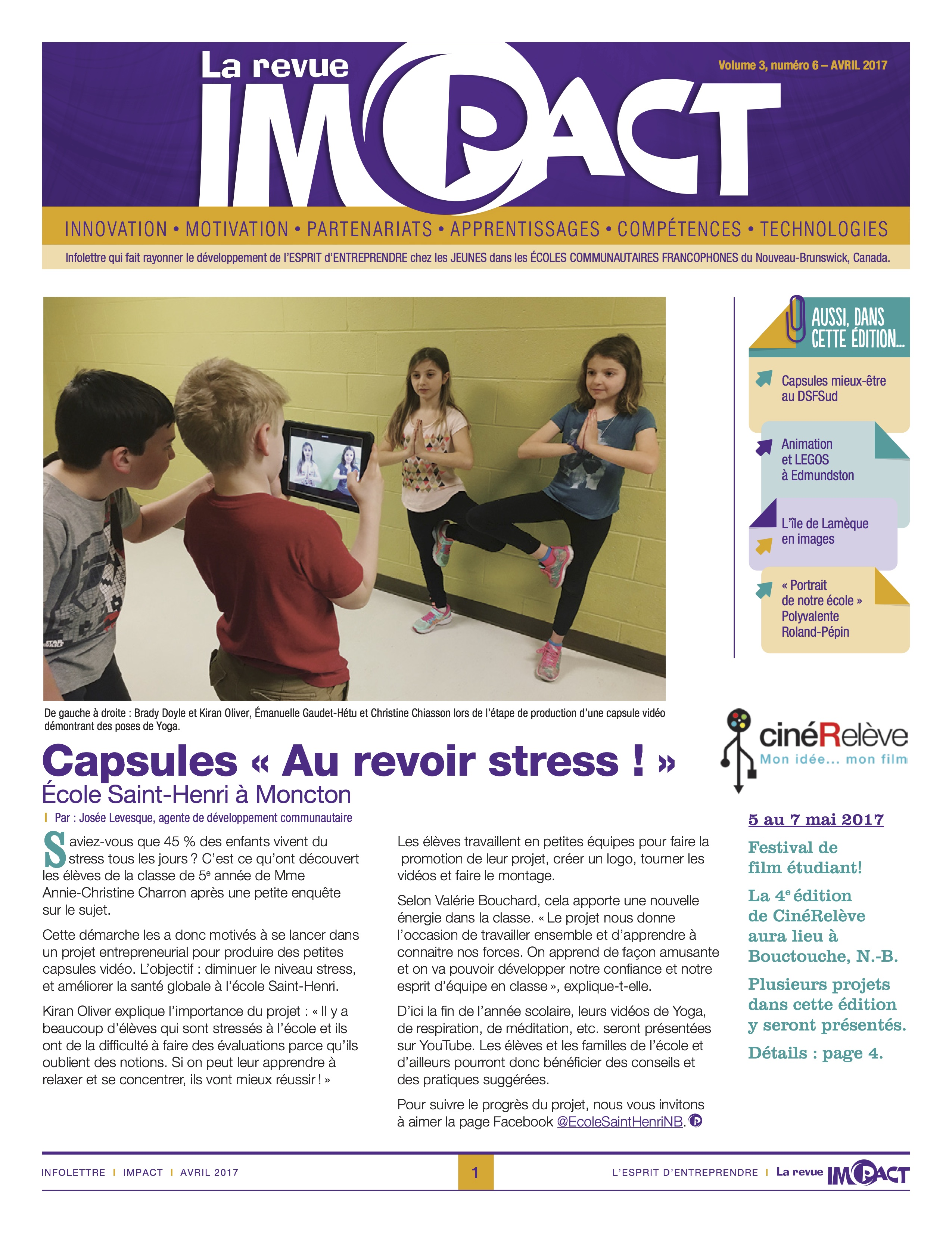 PAC IMPACT Vol3 no6 AVRIL2017